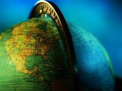 Earth-Globe-